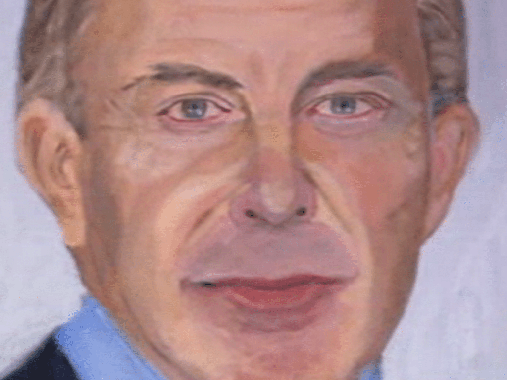 George W Bush paintings. Paints mesmerizing 24 world leaders