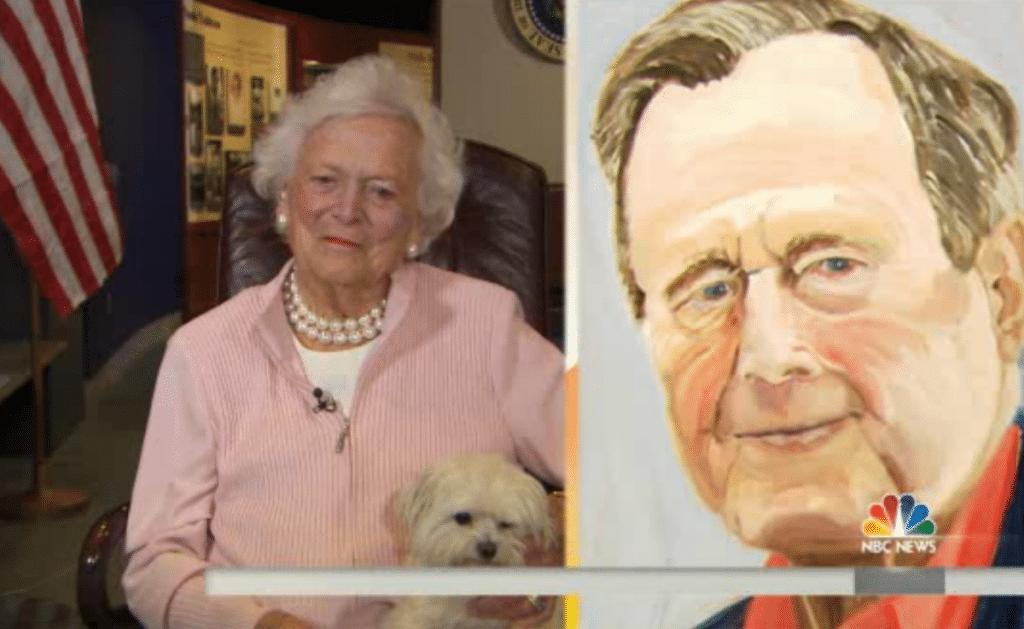 George W Bush paintings. Paints mesmerizing 24 world leaders