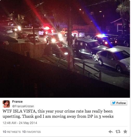 Elliot Rodger Isla Vista shoot out. Kills 6 cause women rebuffed him.