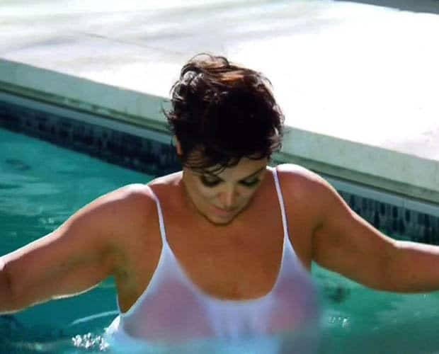 kris jenner flag photo shoot