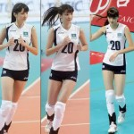 Pictures: Sabina Altynbekova, Kazakh teen volleyball player shunned by team mates cause she's too good looking