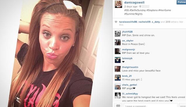 Danielle Cogswell Louisville cheerleader dead in mysterious ...