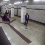 Bissell Canada: Man vacuums subway platform and then eats from it