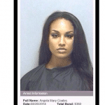 Pictures: Angela Coates mugshot is the new Jeremy Meeks glamor icon.