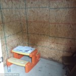 Parents force 15 year old daughter to live in shed, sleep on cinderblock for punishment