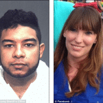Bryan Santana, room mate stabs and strangles Shelby Fazio then has sex with her body.