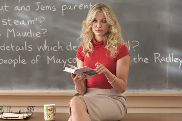 "L-r, Cameron Diaz stars in Columbia Pictures' comedy ""Bad Teacher."""