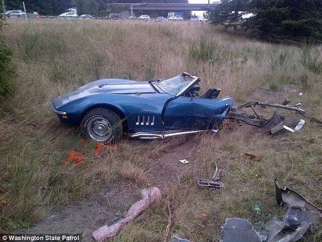 Pictures Jourdan Bradley Crashes Corvette While Racing Suv