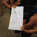 Marquis Moore, black diner finds 'nigga' scrawled on restaurant receipt. Just a joke?