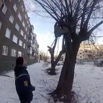 Ilya Goncharov depressed over love life survives suicide bid dangling by his foot of tree branch after jumping out of balcony