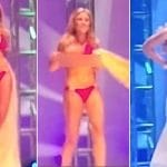 Chanelle Riggan Miss Beverly Hills  suffers epic wardrobe fail