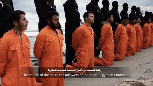 ISIS enthauptet 21 ägyptischen Christen