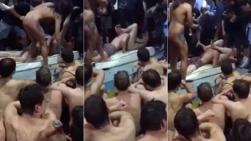Watch: Indiana University fraternity suspended after oral sex hazing video