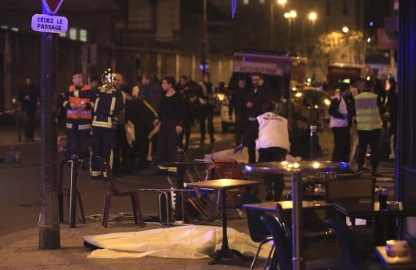 What led to coordinated Paris terrorist attacks killing 60, 100 hostages crises?