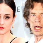 Pictured, Melanie Hamrick and Mick Jagger.