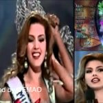 Alicia Machado Miss Universe 1996