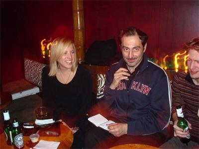 Melissa, Scallywag and Daniel.