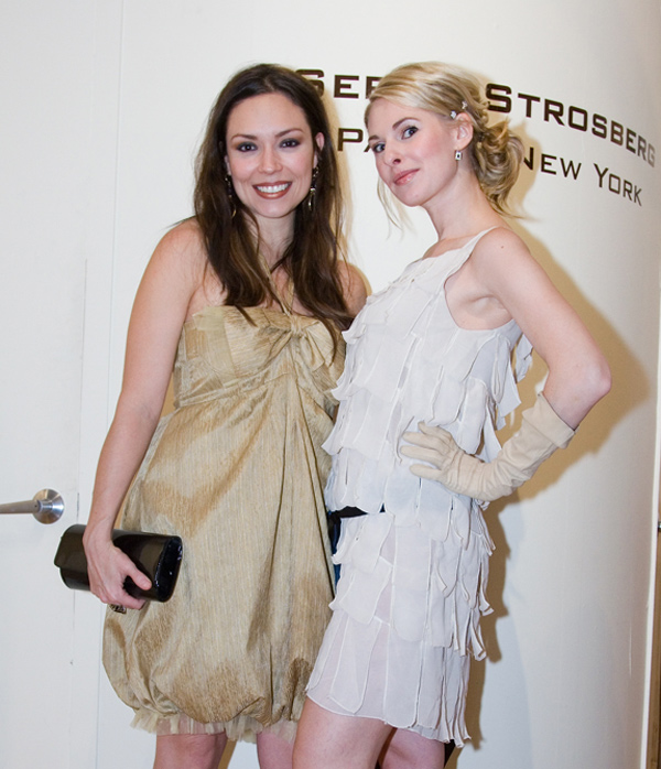 Celestina Villanueva and Miss. Kimberly Belle. Photo by Galya Kovalyova
