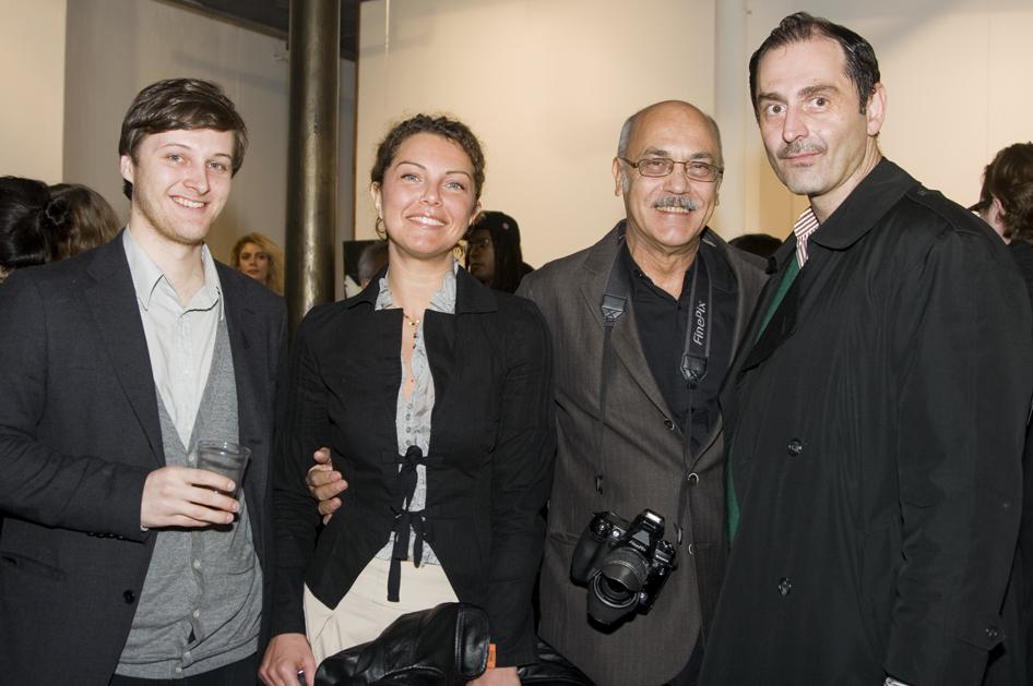 Karl Demarest, Sara Gobboe, Mario de Grossi, and Scallywag