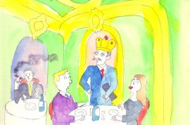 The Etiquette of Dining Out.  Arthur Schwartz Confesses His Sins and Preferences.