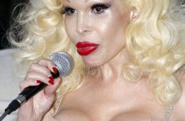 Amanda Lepore turns up for DEPESHA, kind of…