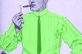 Loitering and Smoking. The past time of dilettantes.