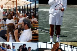 EAST HAMPTON…. TENNIS PROS SCORE SOME 'LOVE'