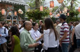 Green Drinks takes over 'Tavern on the Green.'