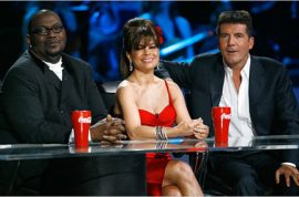 American Scandal- Paula Abdul throws herself off the 'Idol' Boat.