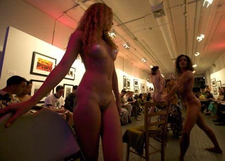 Artists 4 Israel's nude Life Drawing Workshop