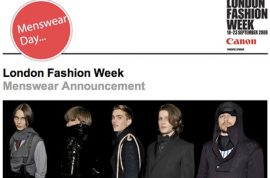 London Fashion Week. Brands Back to Britain.