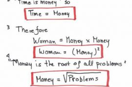 Women as explained by engineers. part 1
