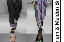 LFW: Style Rebel Ziad Ghanem & his Maiden Britain Collective