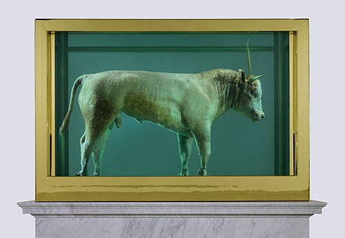 01_Hirst_GoldenCalf_Lot13