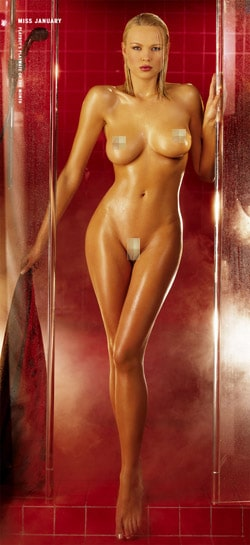 Playboy bunnies naked