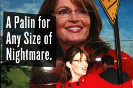 Sarah Palin Book Tour a Very Scary Success.