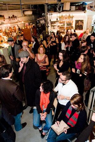 12th Art Salon Party at Gilles Larrain Studio