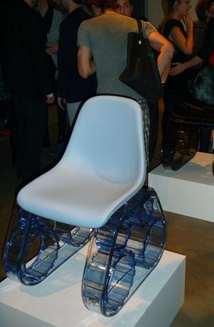 Pharrell's blue chair