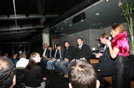 Sally Golan presents the 'Filmmaker Panel' series.