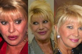 Ivana Trump has a mental breakdown at the airport
