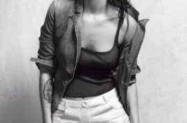 Megan Fox stunning as an Armani muse.