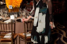 The NY Botanical Gardens hosts its annual Orchid dinner.