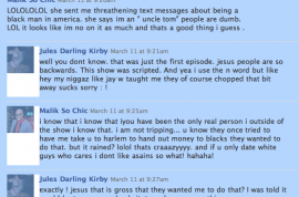 The inside email exchanges that CW's 'High Society' doesn't want you to see. Jules Kirby and Malik so Chic confidential.