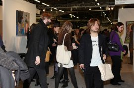 The 2010 NY Armory Show Opens. Be prepared to come with High Cheek Bones.