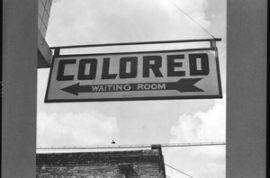 Black customers no longer wanted at Walmart.