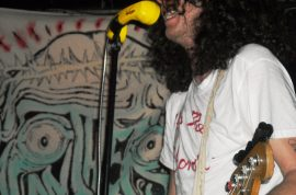 Japanther- being spat at a punk rock show is always thrilling.