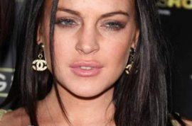 The paparazzi are now wondering when Lindsay Lohan will 'kick' the bucket.