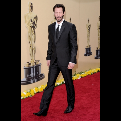 Keanu Reeves needs to never grow butcher side burns ever again or young boys in America will suddenly make young girls cry.