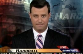 MSNBC retaliates, indefinitely suspends media whore David Shuster.