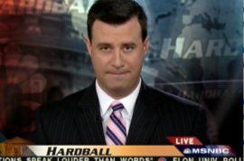 MSNBC retaliates, indefinitely suspends media whore David Shuster.